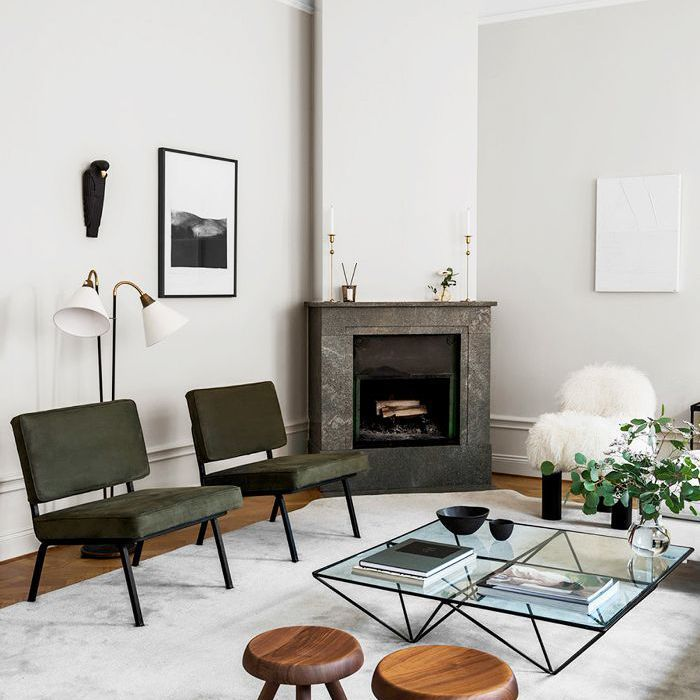 Danish Home Design Ideas: Scandinavian Homes Are Known To Have Fireplaces In The