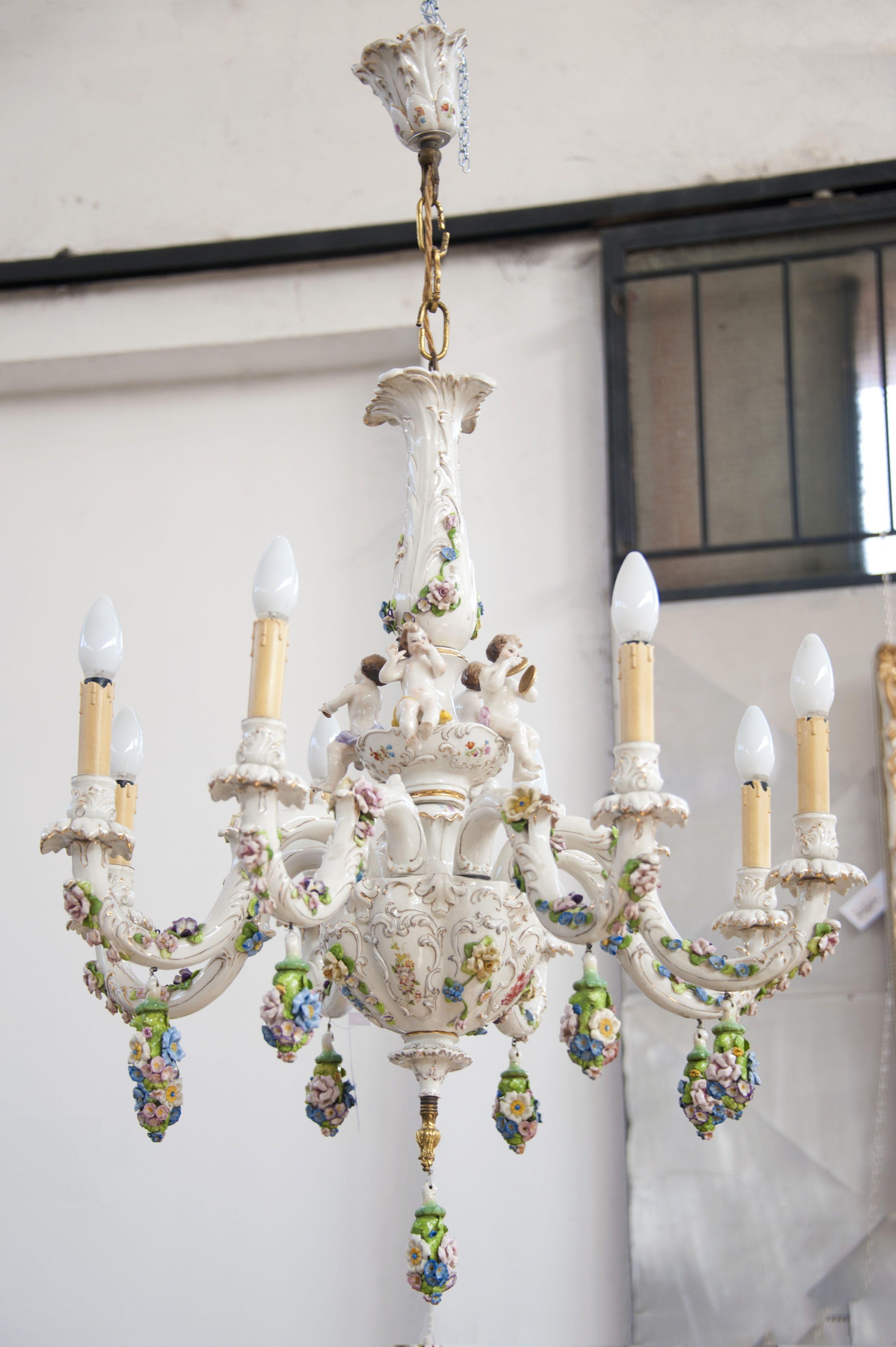 Lampadario di Capodimonte Illuminazione