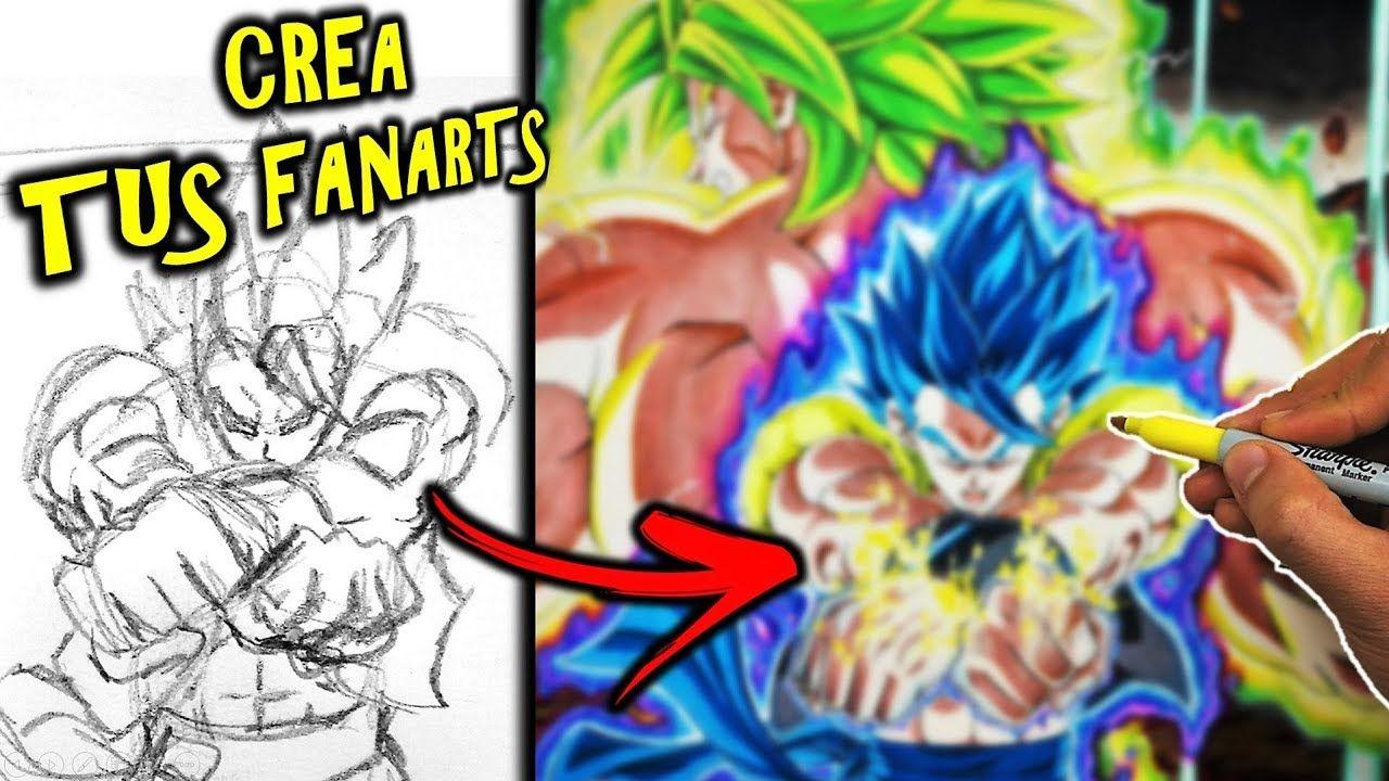 Como Dibujar A Gogeta Vs Broly Pelicula Dragon Ball Super Como Crear Tu Dragones Peliculas De Dragones Imagenes Geniales Para Dibujar
