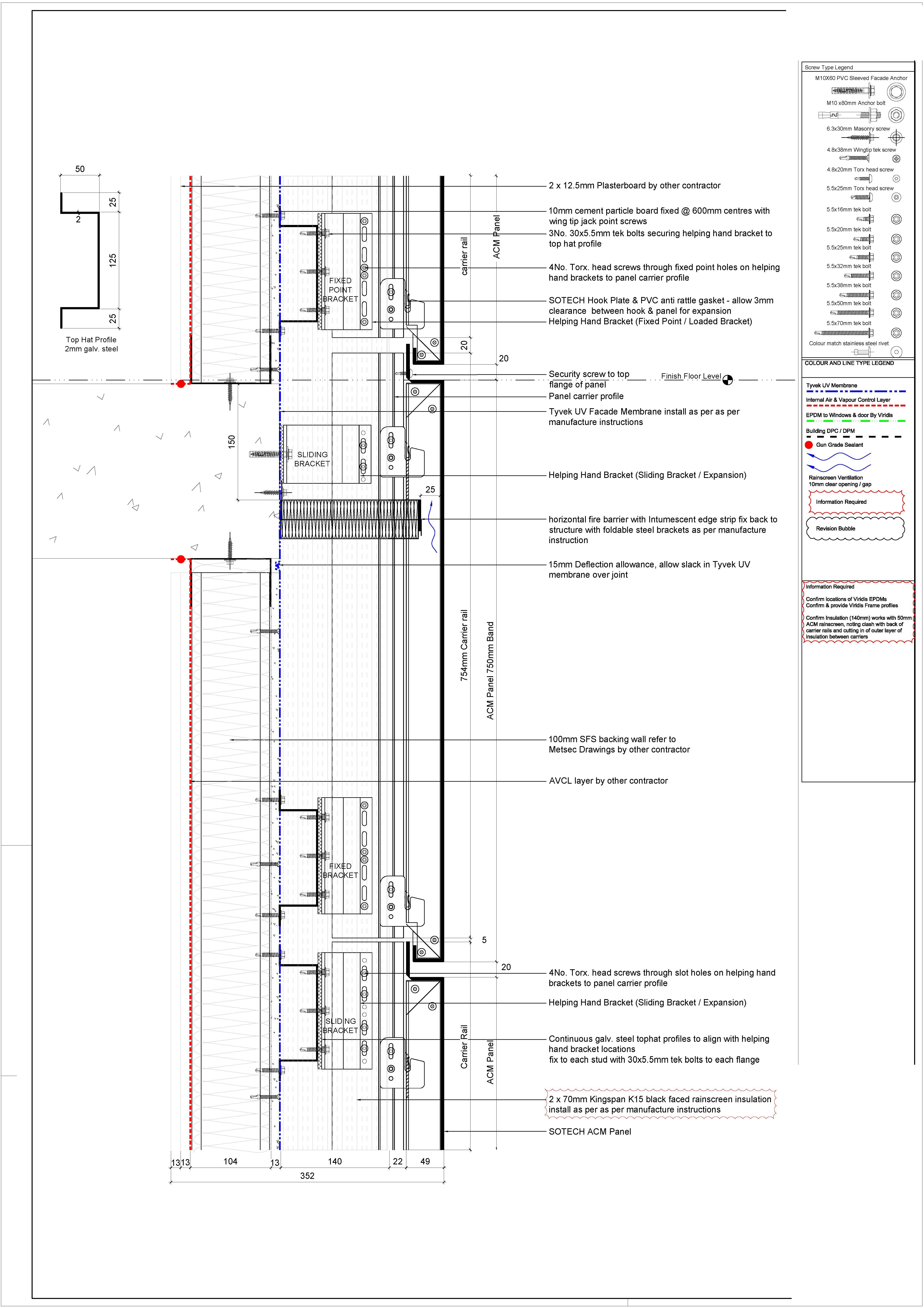 acm panel section