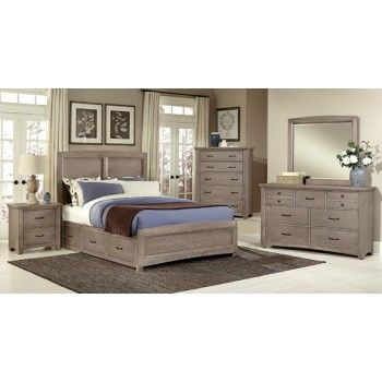 Best Vaughan Bassett Transitions Collection King Bedroom 640 x 480