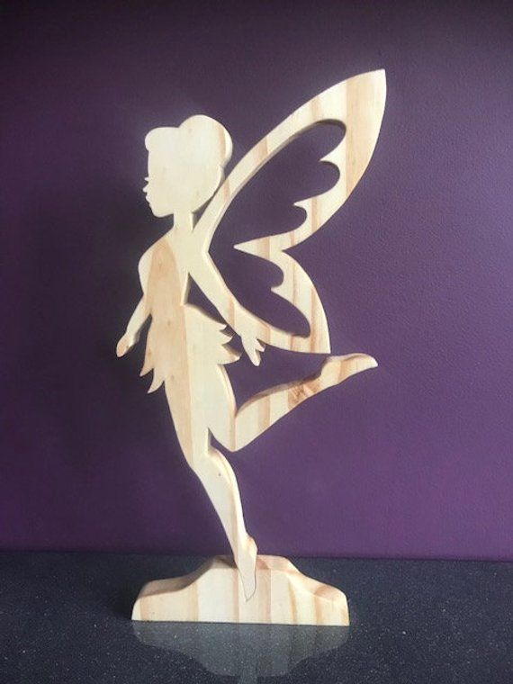 Beautiful crafted natural wooden fairy, Gift, Mother, Sister, Birthday, Wedding