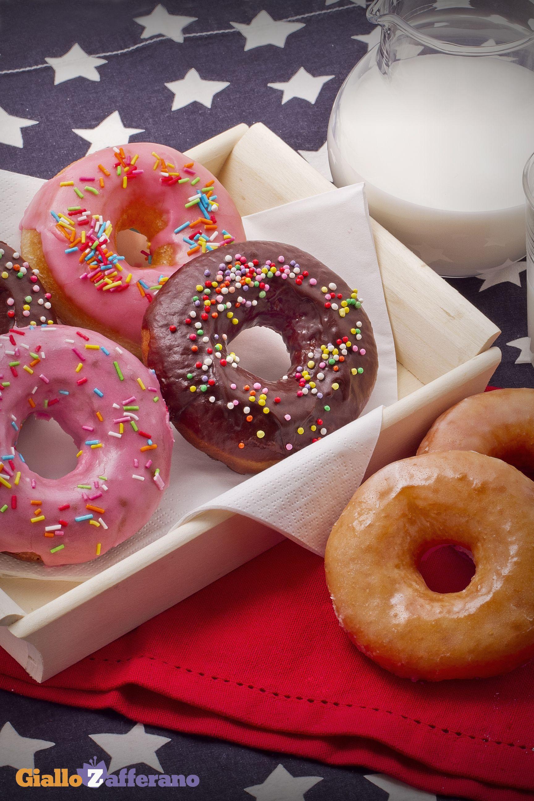 Ricetta Donuts Giallozafferano.Donuts Ricetta Ciambelle Glassate Ricette Ciambelle