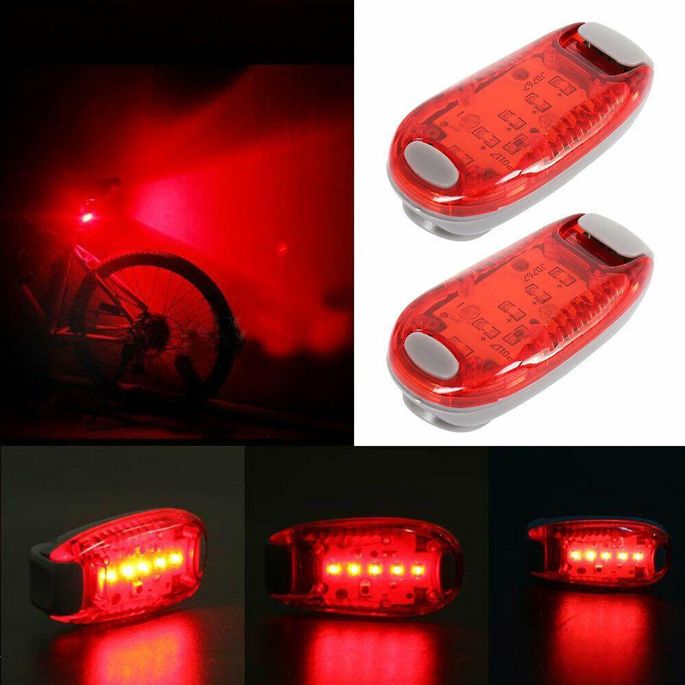 Bicycle Bike Rear Tail Light LED 5 Modes Lamp Waterproof Runner Kids Stroller
