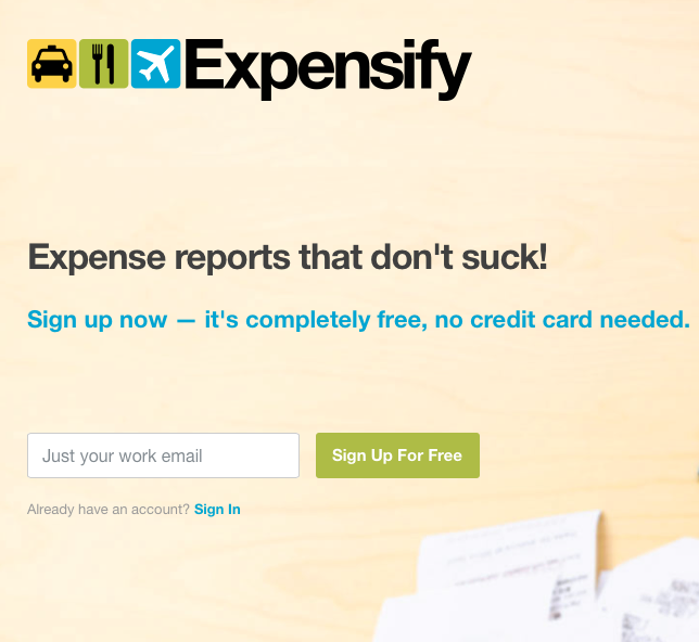 Free Expense Reports Expense Reports That Don't Suck Httpswww.expensify .