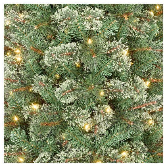 9ft Prelit Artificial Christmas Tree Slim Virginia Pine