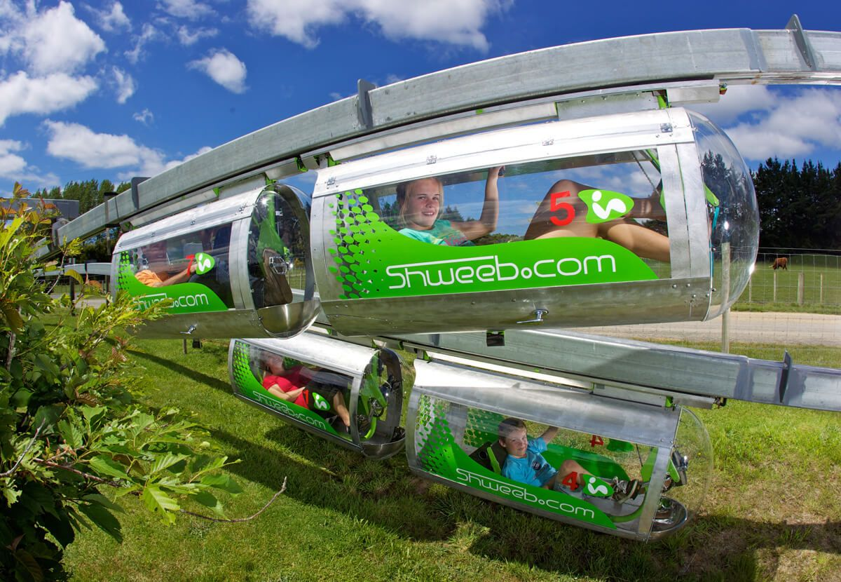 Shweeb | Agroventures - Rotorua Attractions & Adventures | World-first Shweeb!