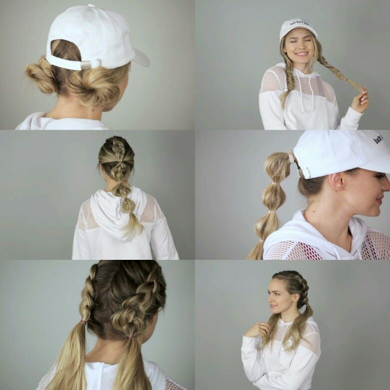 Kayley Melissa Easy Quick Workout Hairstyles Tutorial Workout Hairstyles Hair Styles Easy Workout Hairstyles