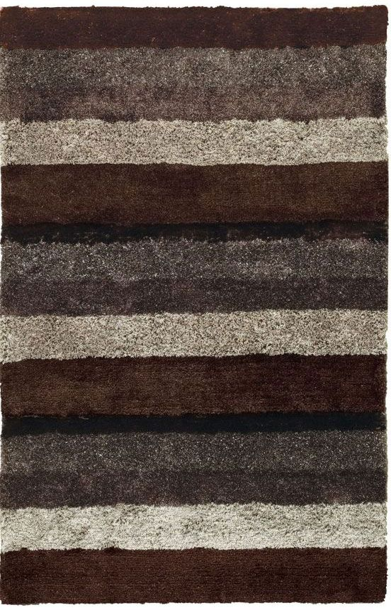 Capel City View Skyline Brown Rug