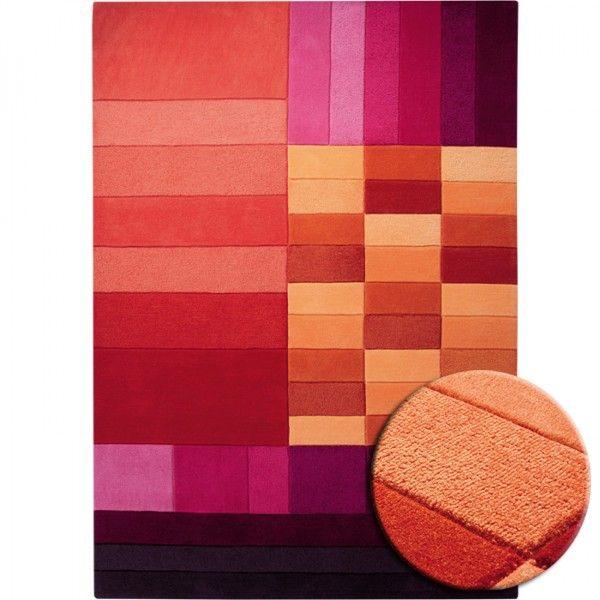 étonnant tapis rouge orange | Décoration française | Pinterest ...