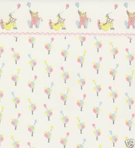 Dolls House in the Circus Miniature Print 1:12 Nursery Wallpaper 3 Sheets