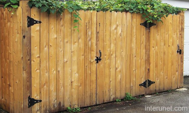 Wooden fence gates designs fences simple wood gates for Wood garden gate designs