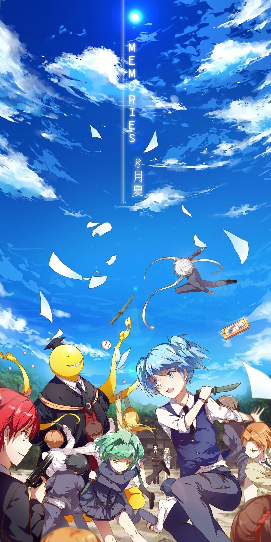Assassination Classroom Wallpaper Fondo De Anime Fondos