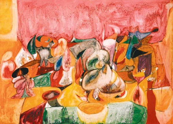 Aroma Of Apricots In The Fields Arshile Gorky 1944 Art