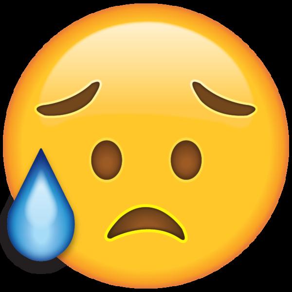 Disappointed But Relieved Face Emoji Emoji Crying Emoji Apple Emojis