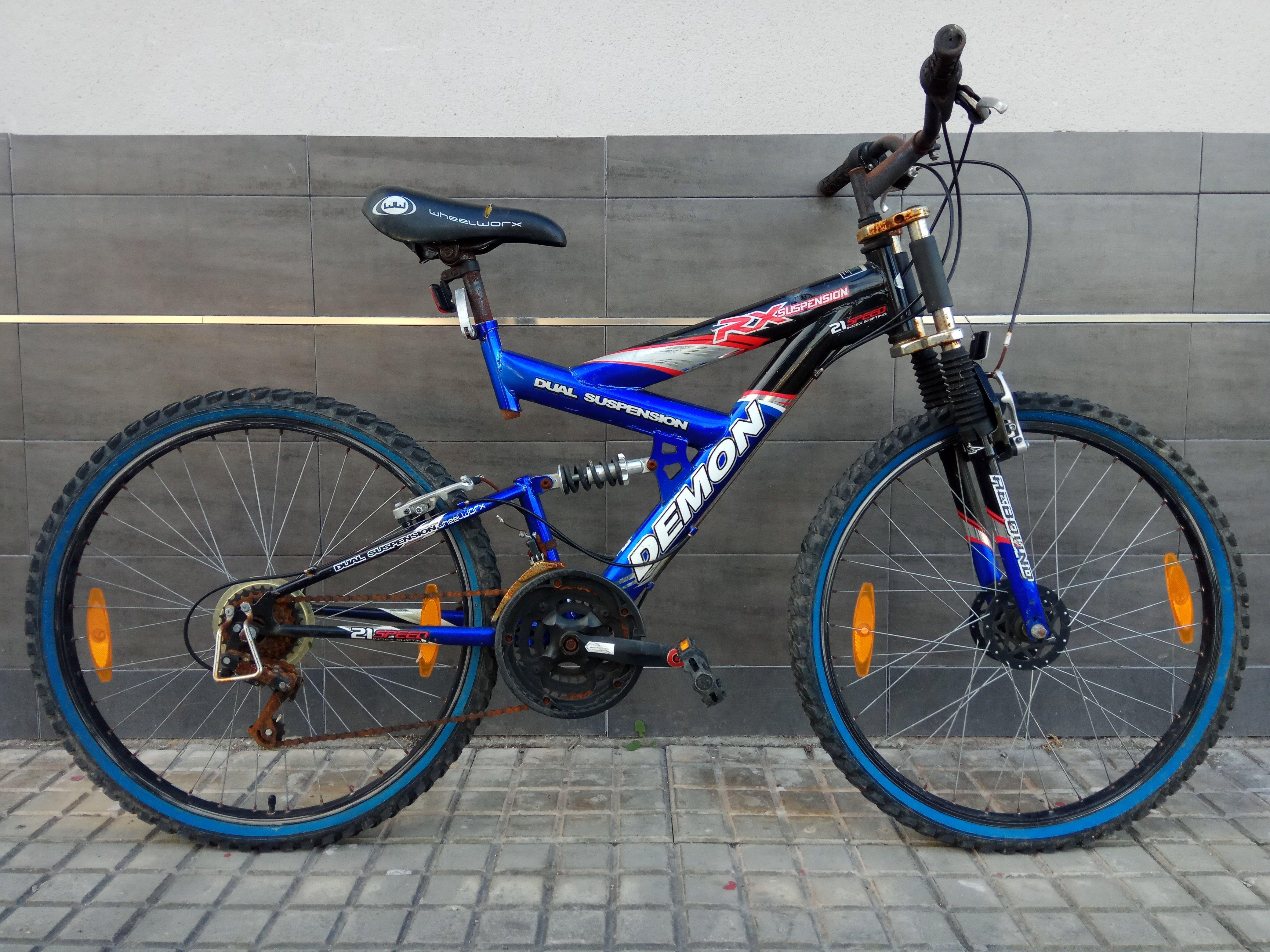 Bici Wheelworx para Restaurar 60€ MARCA: Wheelworx MODELO: Demon ...