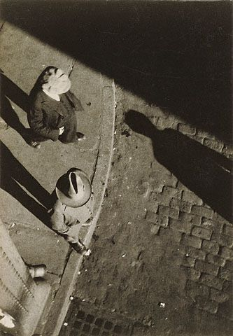 New York City Street Corner, High Angle View (Getty Museum)