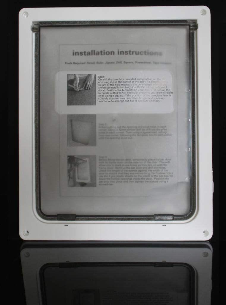 Namsan Pet Screen Door Protector With Telescoping Frame