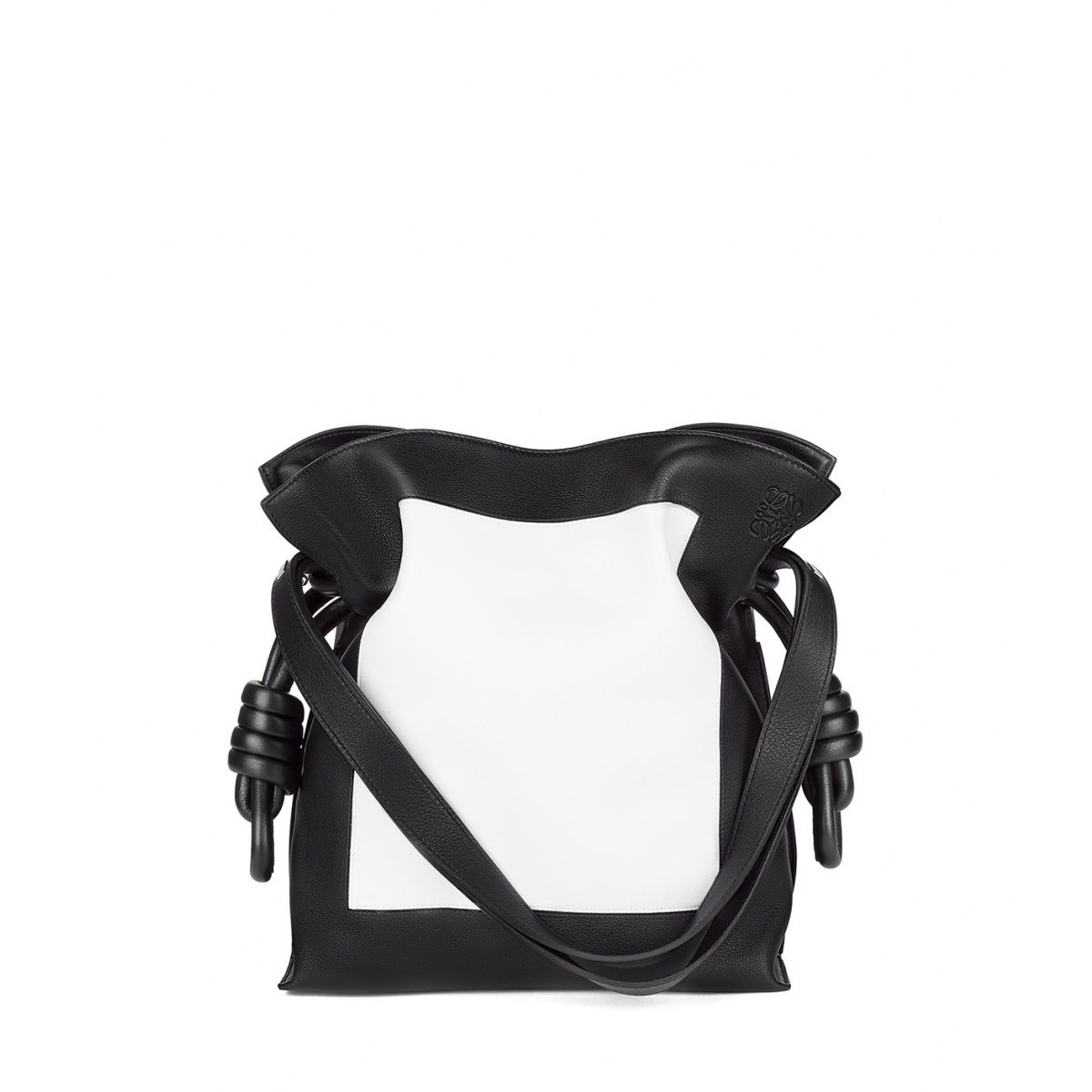 Loewe Bags - FLAMENCO KNOT BAG Black/white Discover Loewe Bags products, like our FLAMENCO KNOT BAG black/white. Enter now.