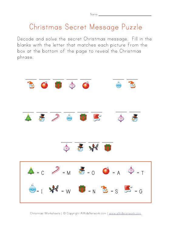 Preschool Christmas Printable Elf