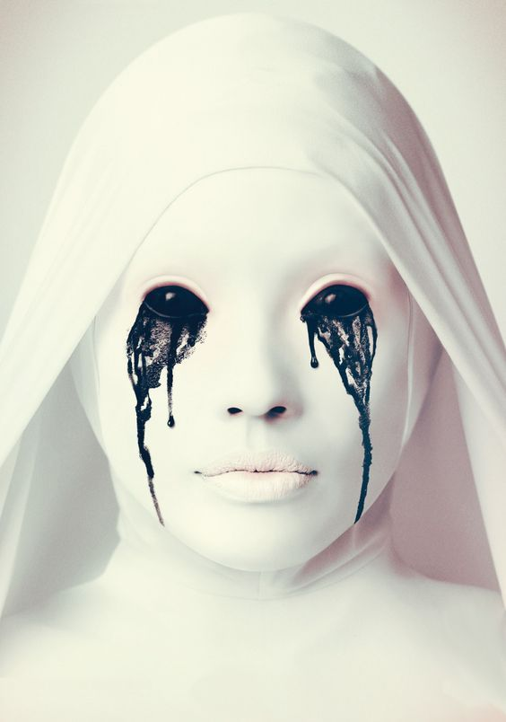 how to make a crying white nun costume for an american horror story halloween - Story Of Halloween Movie