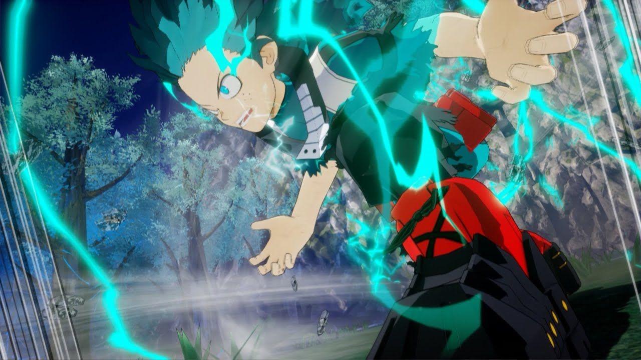 Izuku Midoriya Full 100 Vs Muscular My Hero Ones Justice 2 My Hero Hero Justice