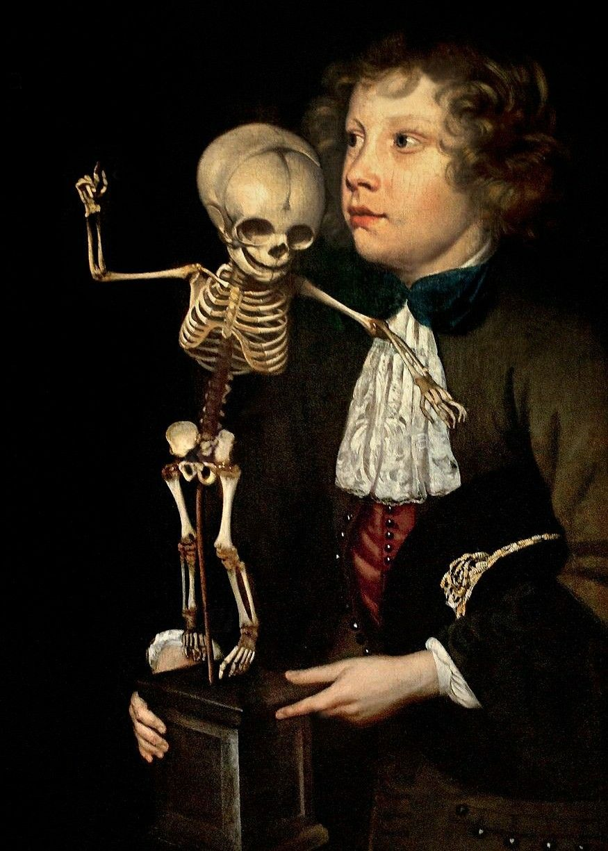 The Anatomy Lesson of Dr. Frederik Ruysch(Detail), 1683 by Jan van ...