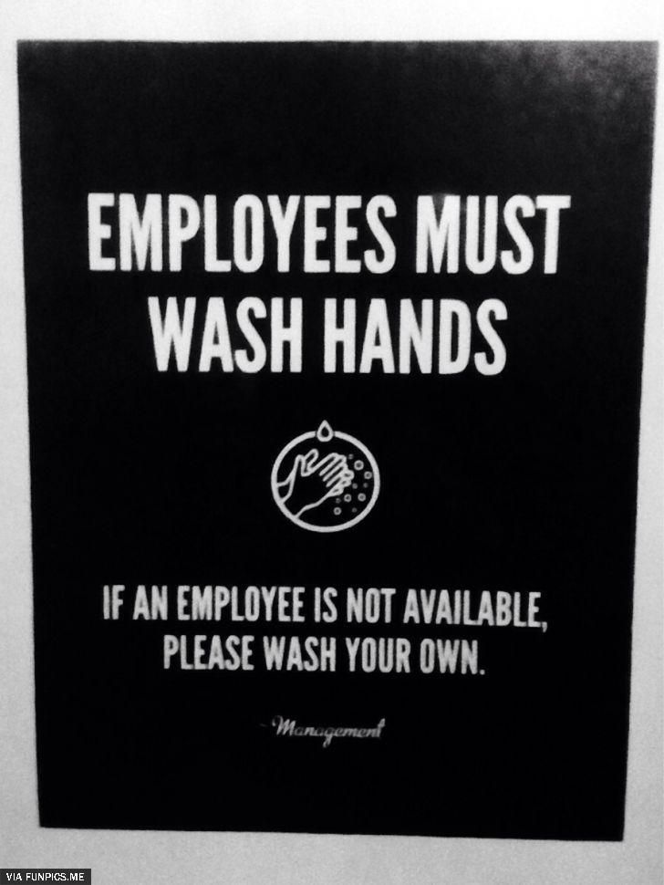 Funny Wash Hand Sign Wash Hands Sign Sarcastic Quotes Funny Quotes Sarcasm