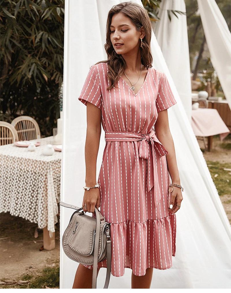 WomenS DIY Dresses Fashion Summer WomenS Long Sleeve