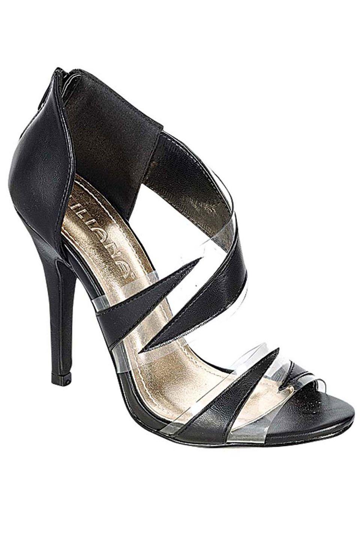 56d0a992d74 liliana Anya-15 Heel in Black - Beyond the Rack | Shoe and Handbag ...