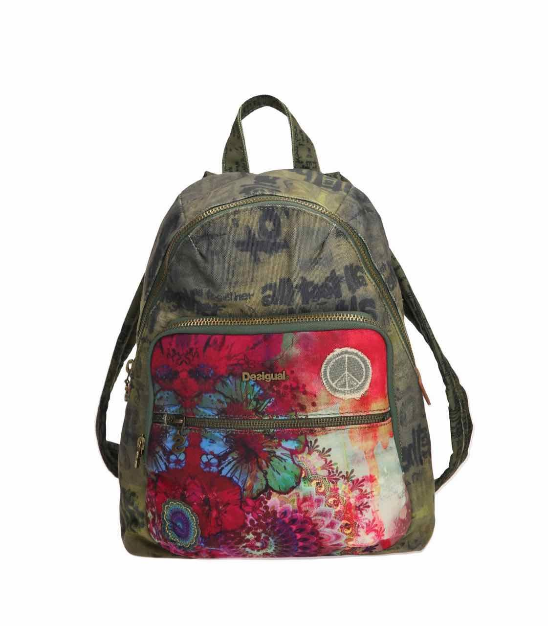 good service look for top quality 61X50D9_4003 Desigual Backpack Lima Woodstock | Disingual in ...