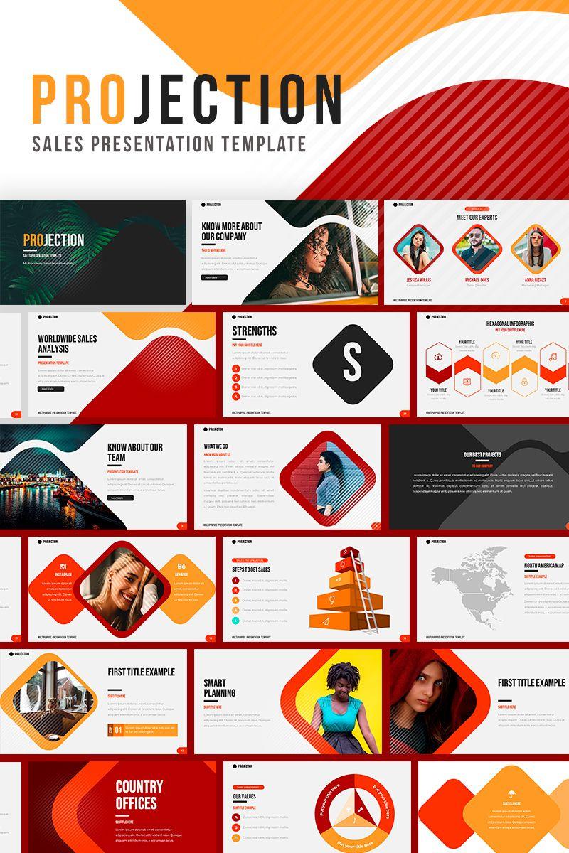 Sales Projection Google Slides Template Google Slides 86479