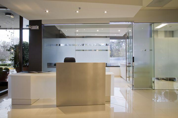 Glass Panel Walls Interior Architecture Design Office Space Decor Dental Office Design