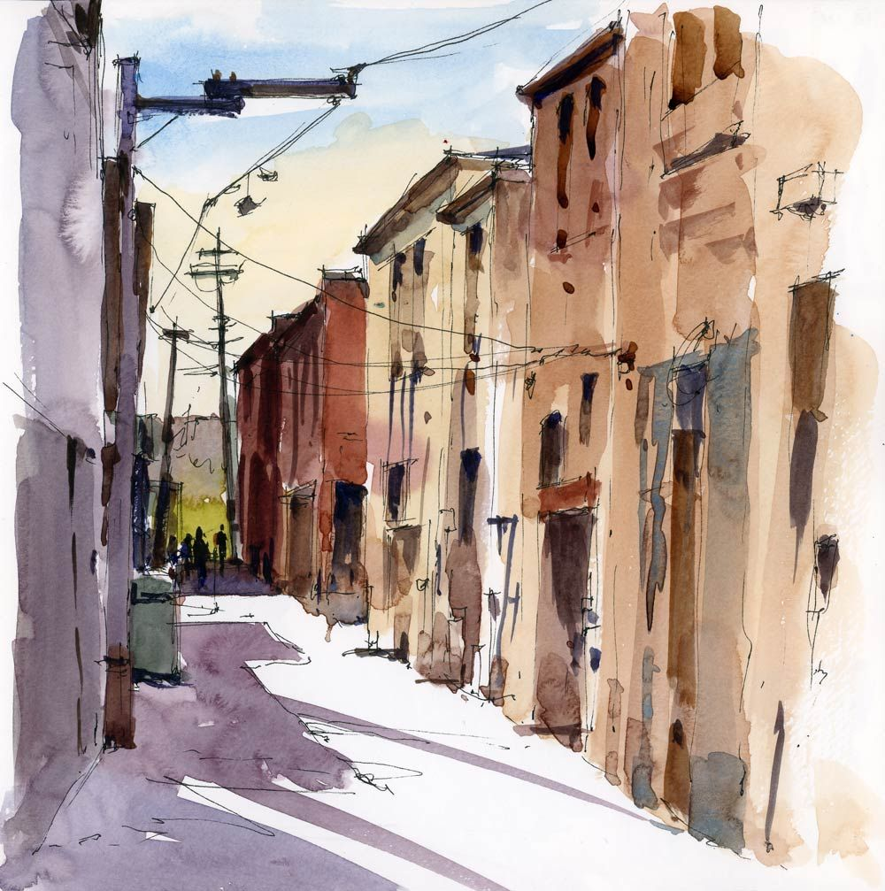 Perspective For Sketchers A New Online Class With Stephanie Bower