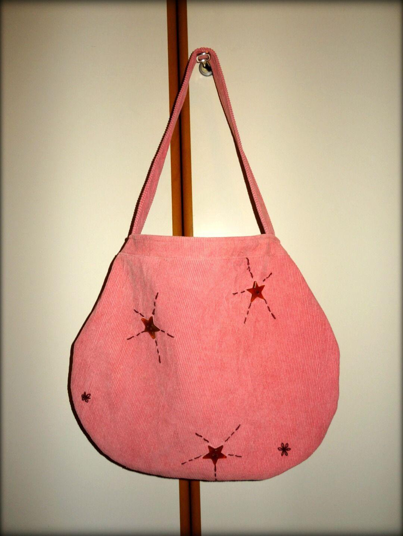Borse vintage in velluto rosa : Borsette di cipart
