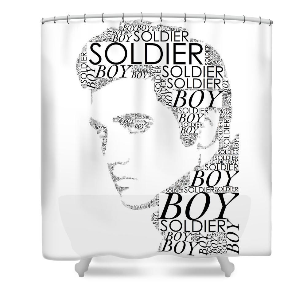 Custom Elvis Presley Shower Curtain New Large European And