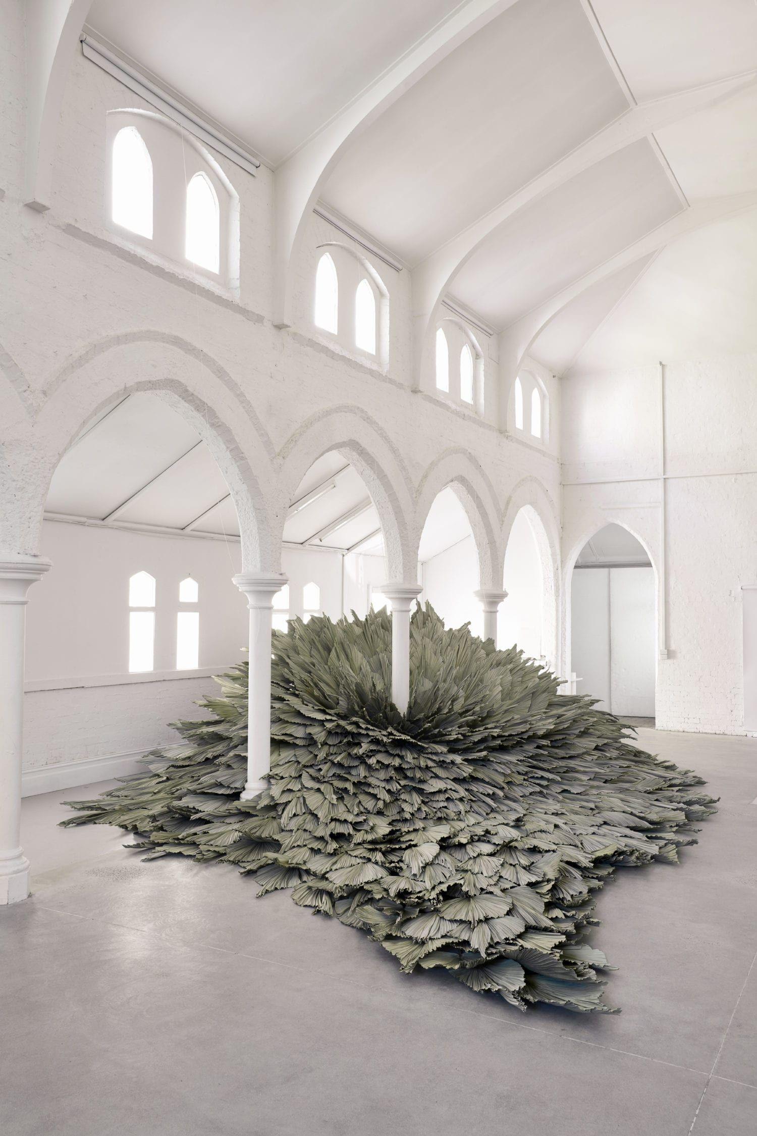 Proximity Botanical Installation by Wona Bae & Charlie Lawler of Loose Leaf.