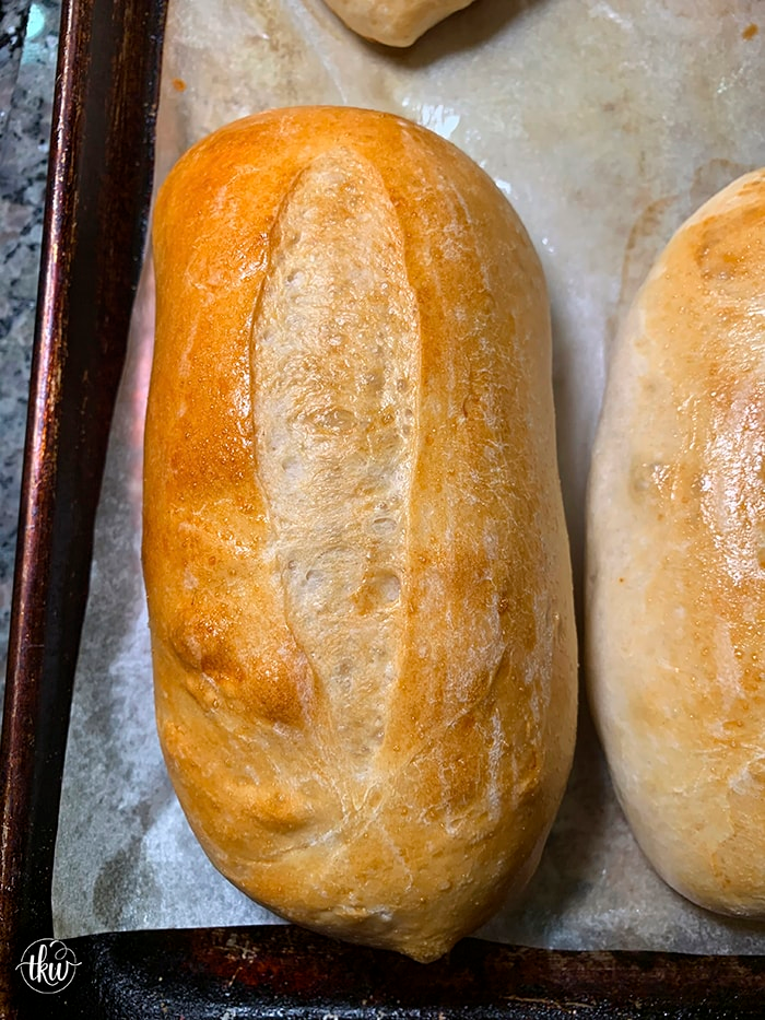 The BEST soft and chewy bread roll for hoagies/submarine/grinders. Pillowy soft rolls that are begging to be filled with deliciousness! rolls, bread rolls, hoagies, sub sandwiches, pizzeria shop, bread,best hoagie rolls recipe, soft hoagie buns, soft and chewy hoagie rolls, hoagie roll sandwich recipes, #hoagie #breadrolls #hoagieroll