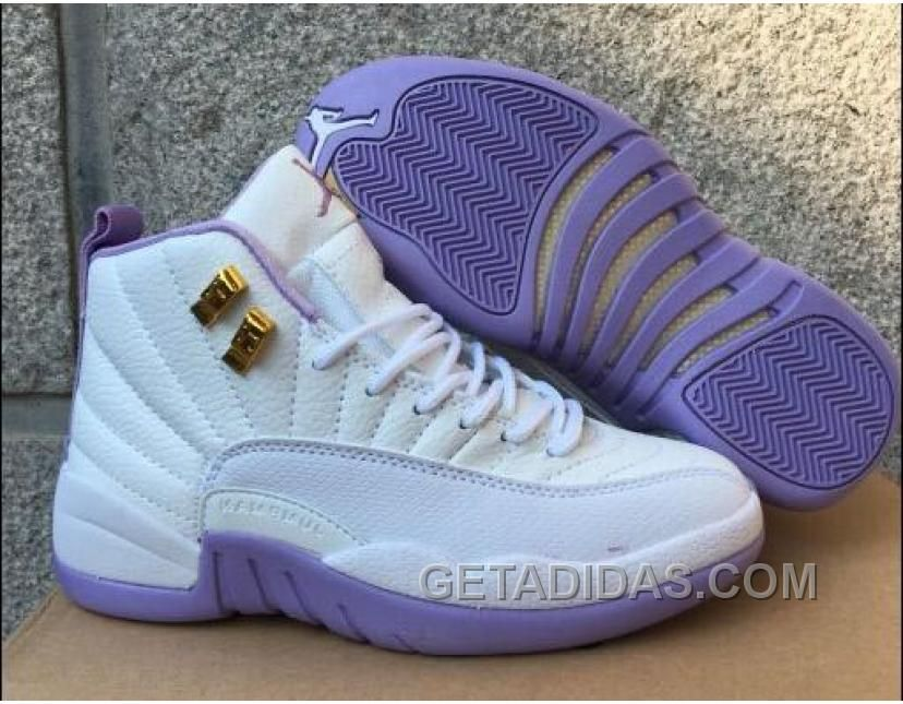"26633e2d3 2017 AIR JORDAN 12 GS ""DARK PURPLE DUST"" SUPER DEALS PPJYFQ Only  92.00"