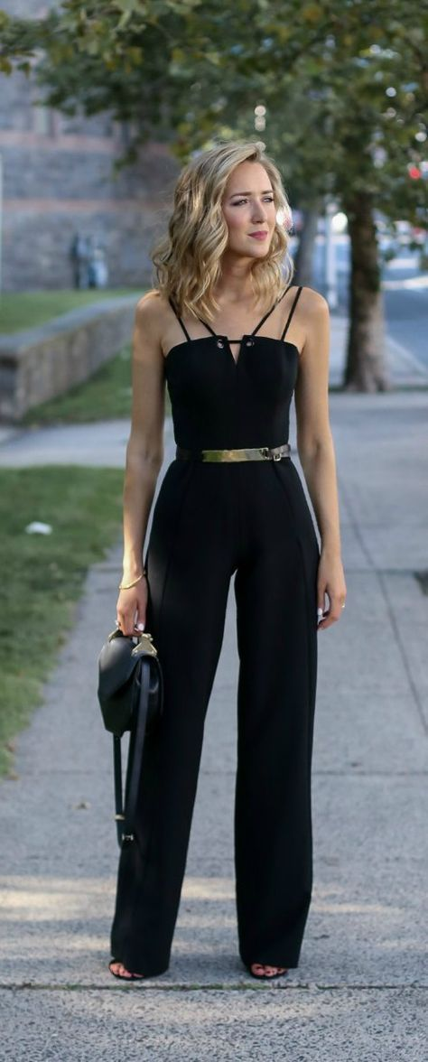 2c698ba4c3c black sleeveless wide leg jumpsuit