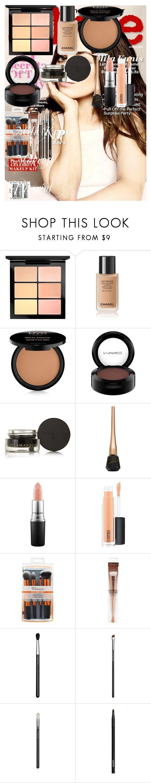Mila kunis makeup tutorial mila kunis makeup light brow and mac mila kunis makeup tutorial by oroartyellie on polyvore featuring beauty mac cosmetics baditri Image collections