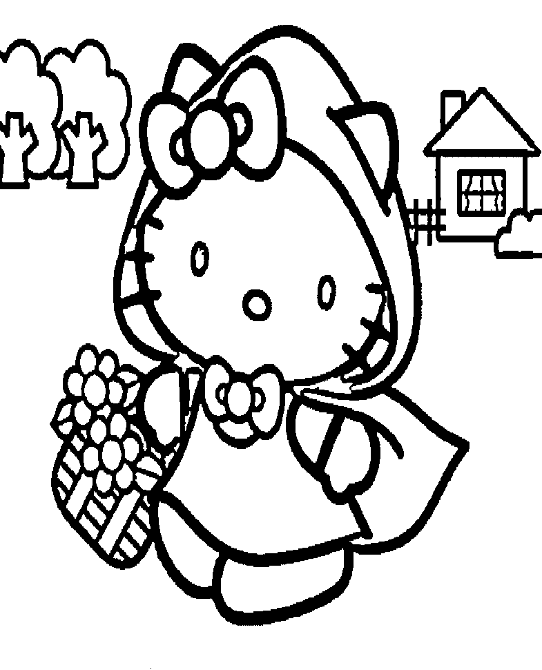 Hello Kitty Halloween Coloring Pages Best Coloring Pages For Kids Halloween Coloring Halloween Coloring Pages Hello Kitty Halloween