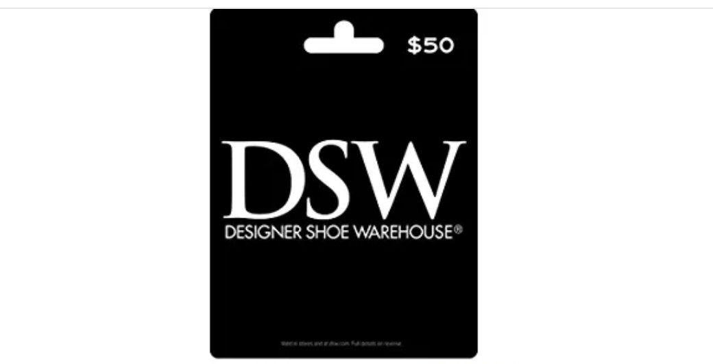 Dsw Gift Card 50 Designer Shoe Warehouse Dsw Designer Shoe Warehouse Dsw