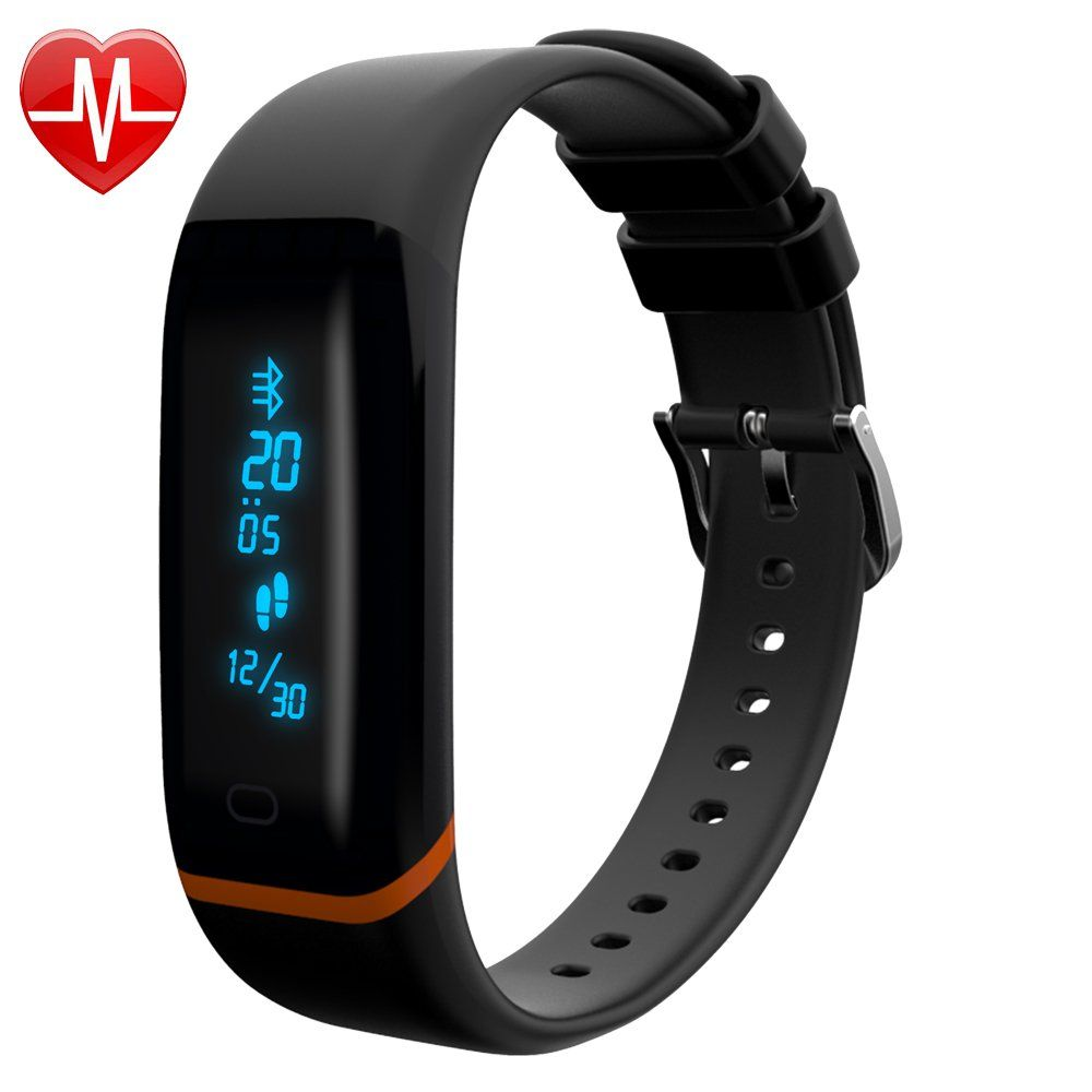 Fitness Tracker, Bluetooth 4.1 AppEnabled IP68 Water