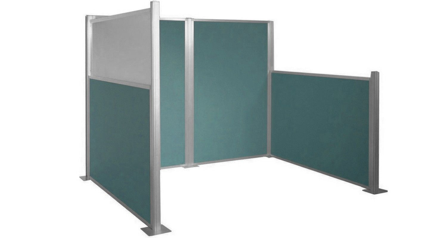 Diy cubicle partitions are here our hush panel for The room partition