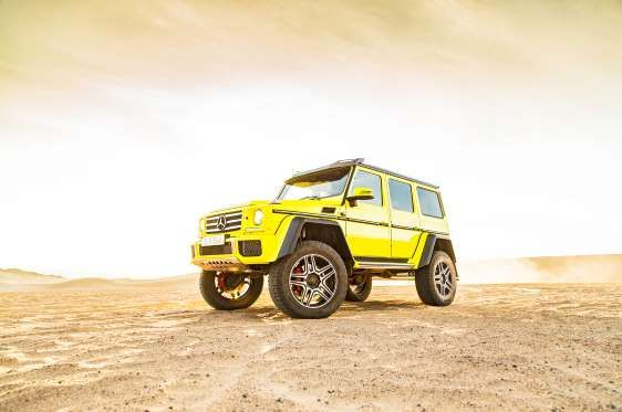 2017 Mercedes Benz G550 Has An Overall Height Of 7 3 Feet The