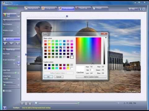 برنامج Fotomix لتغيير الخلفيات ودمج الصور Youtube Enjoyment