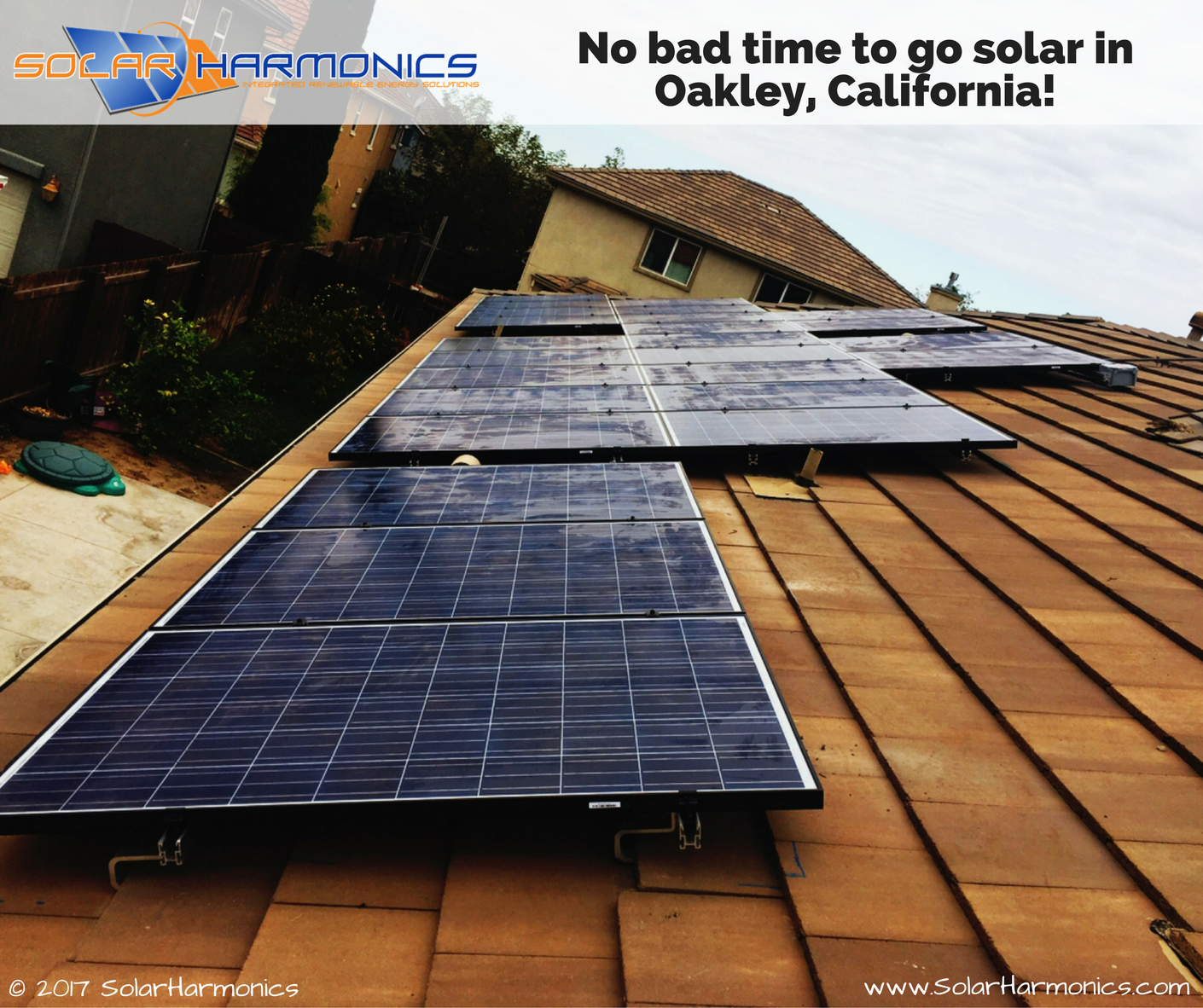 No Bad Time To Go Solar In Oakley California This System Features Boviet Solar Usa Solaredge Technologies Solar Solar Panels