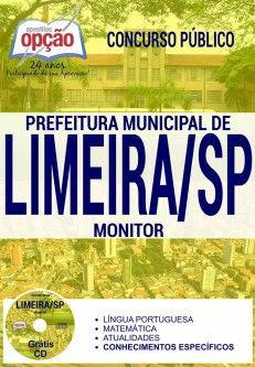 Apostila Concurso Limeira Sp 2017 Monitor Impressa Ou Digital Pdf