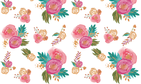 Colorful fabrics digitally printed by Spoonflower Gold